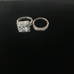 Jewelry - Square CZ ring